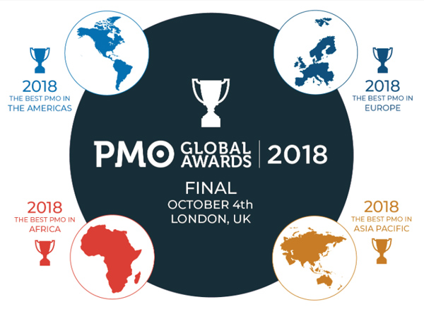 PMO Global Awards 2018 - Award Categories