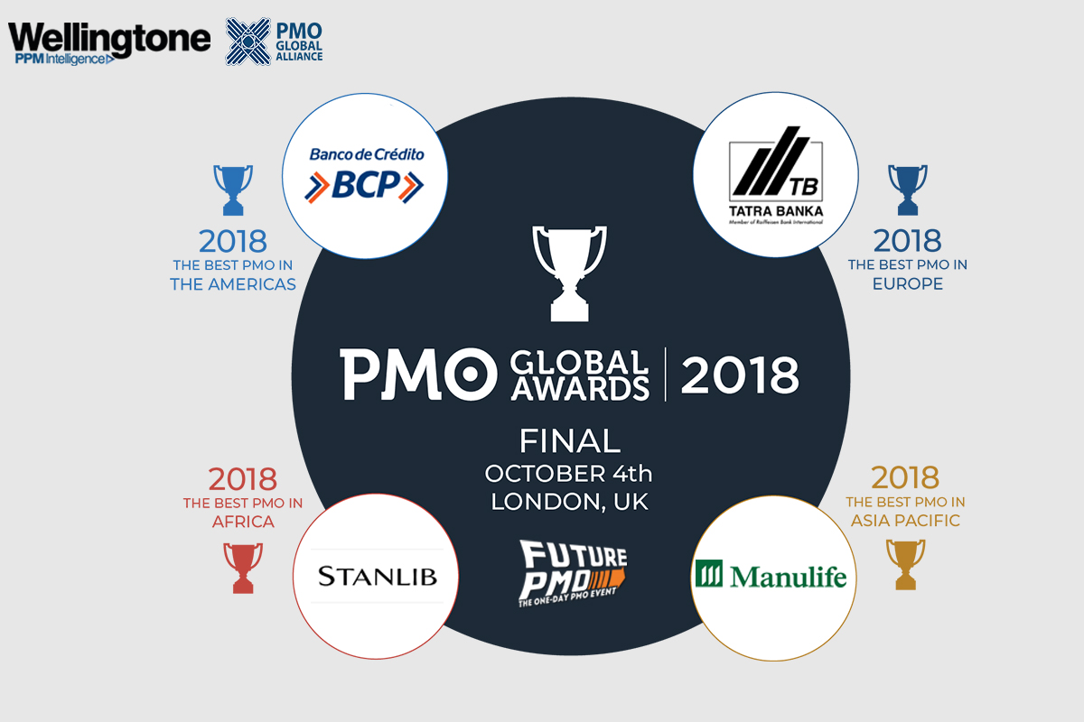 PMO Global Award Winners 2018 - Regional Finalists - PMO Global Alliance and FuturePMO
