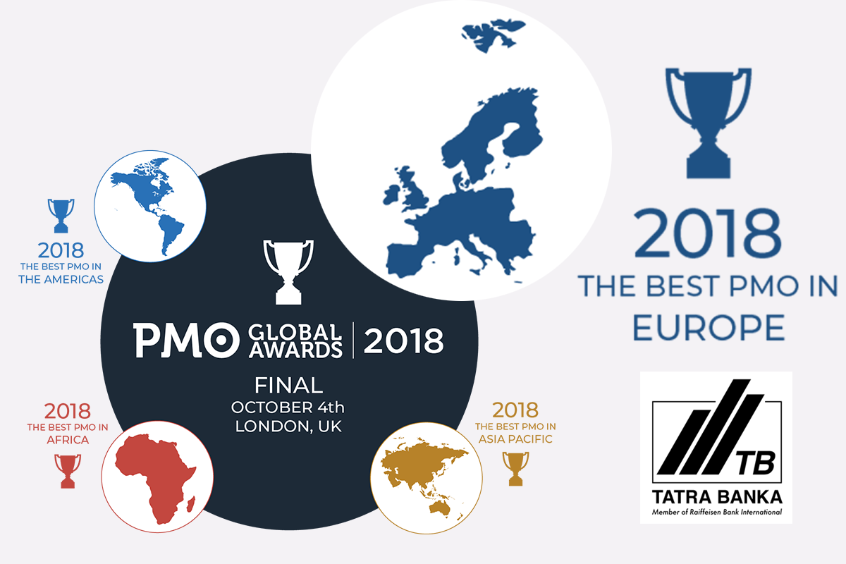 Tatra Banka - Europe's PMO of the Year Finalist