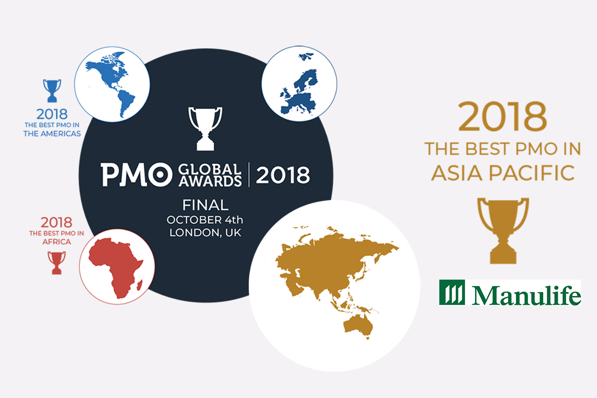 Manulife - Asia-Pacific PMO Global Award Winner - FuturePMO