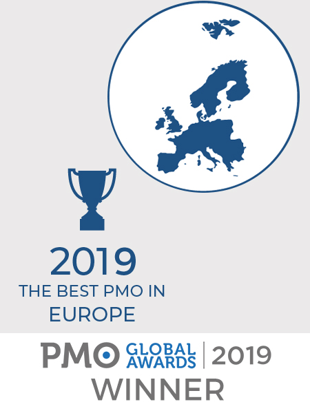 Best PMO in Europe - PMO Global Awards 2019