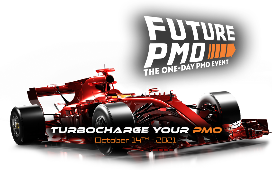 FuturePMO - the one-day PMO event. Turbochart your PMO October 14th 2021